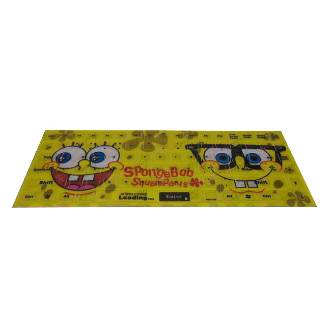 PVCSpongeBob SquarePants Accessories Keyboard Sticker 2