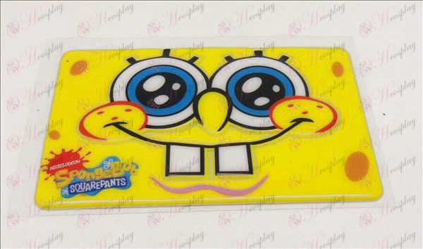 Waterproof degaussing card affixed (SpongeBob SquarePants Accessories2)