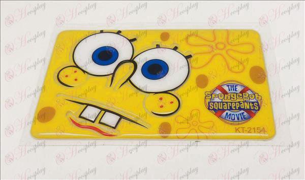 Tarjeta de desmagnetización impermeable fijada (SpongeBob SquarePants Accesorios1)