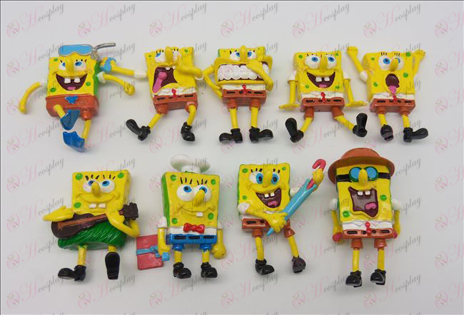 9 SpongeBob SquarePants Accessories doll (6cm)