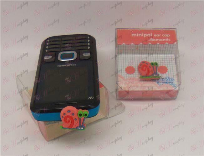 Mobilný telefón headset konektor (SpongeBob SquarePants Príslušenstvo Červený)