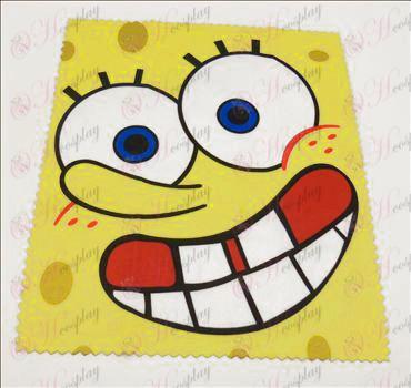 Handričky na okuliare (SpongeBob SquarePants príslušenstvo) 5 listov / set