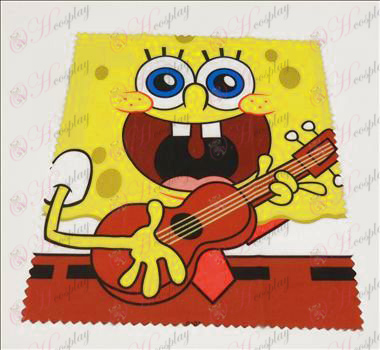 Glasses cloth (SpongeBob SquarePants Accessories2) 5 sheets / set