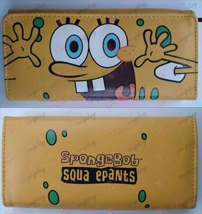 SpongeBob SquarePants Accessories color long wallet (A section)