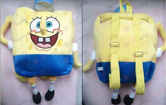 Cap SpongeBob SquarePants Accessories Backpack 26 * 45cm
