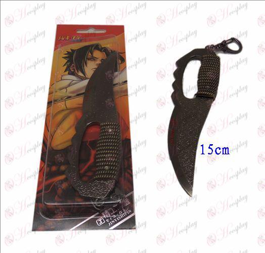 Asma D Naruto Messer Schnalle (black)