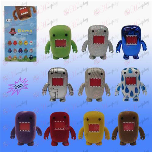 10 color boxed doll Domo Accessories