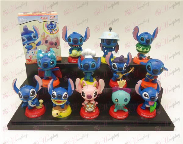 12 Lilo & Stitch Tarvikkeet Doll (boxed) 6cm