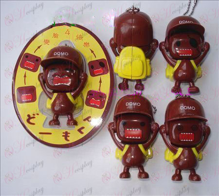 Domo Accessories face doll ornaments (a) yellow bag