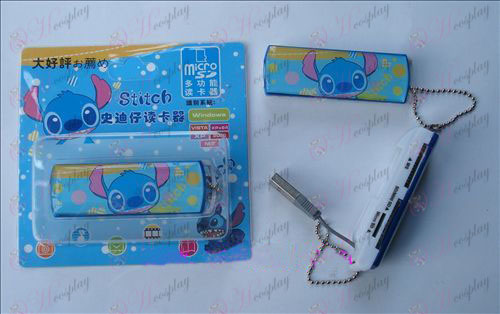 Lilo & Stitch Accessories multi-card reader (a) Halloween Accessories Online Store