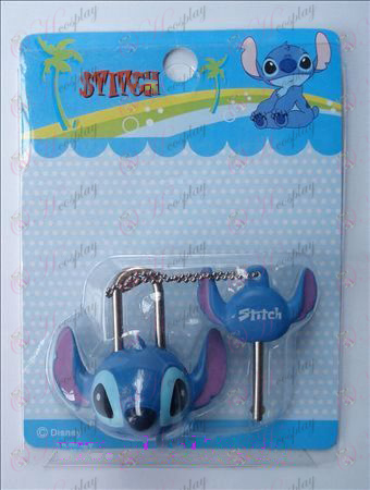 Lilo & Stitch Accessories couple locks (movable)