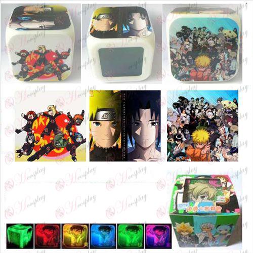 Naruto 3 overflade farve farverige alarm clock