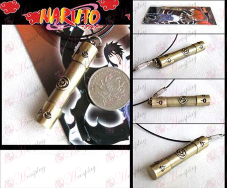 Naruto write round eyes reel necklace