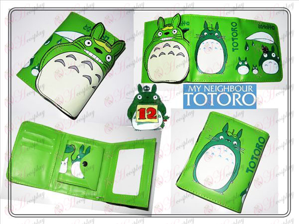 My Neighbor Totoro Accessories Wallets green stud