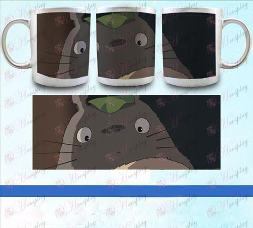 YB099-השכן Totoro אבזרים pearlescent כסף הגביע