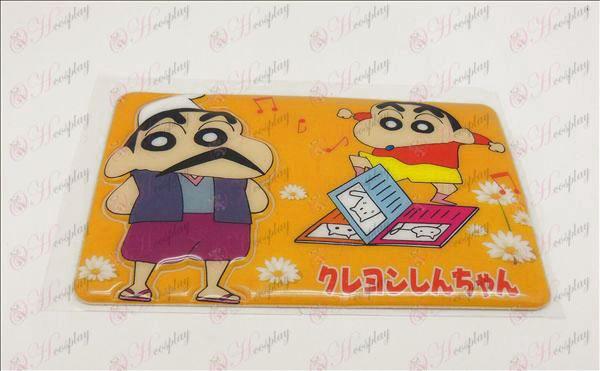 Водоустойчив Размагнитването карта поставена (Crayon Shin-Chan аксесоари)