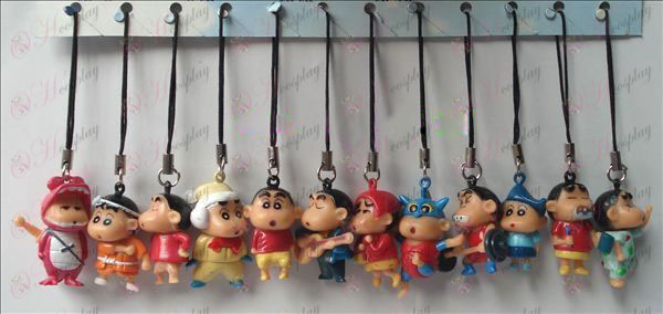 Crayon Shin-chan Accessories Doll Machine Rope (12 / set)