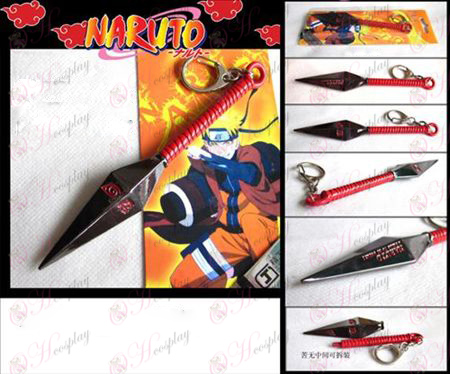 Naruto suffer no knife buckle (Red)