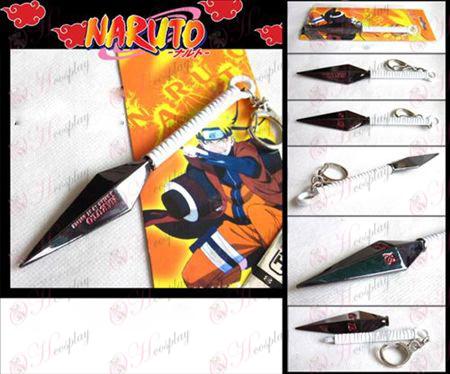 Naruto suffer no knife buckle (white)