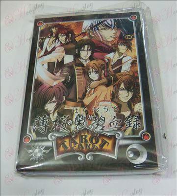 Hakuouki accessoires Mysterious Tarot