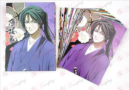 Hakuouki Аксесоари Пощенски картички B