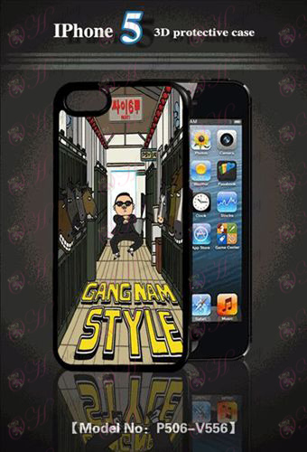 3D mobile phone shell Apple 5 - Bird t-