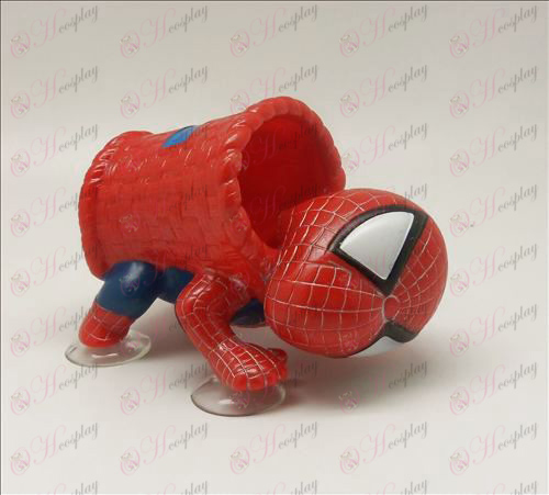 Fietstassen Sucker Spider-Man (Rood)