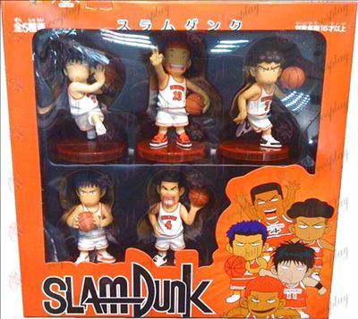 Genuine five base models Slam Dunk Accessories