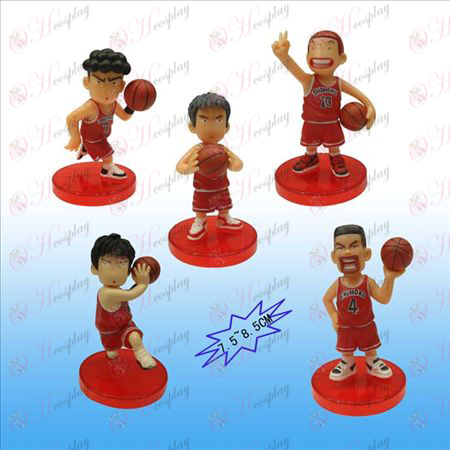 5 моделей Slam Dunk аксессуаров куклы колыбели (Джейн)