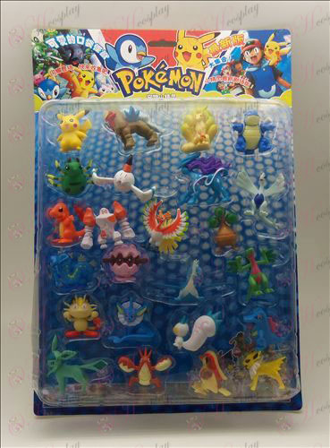 24, Pokemon Tilbehør (blister pakke 2)