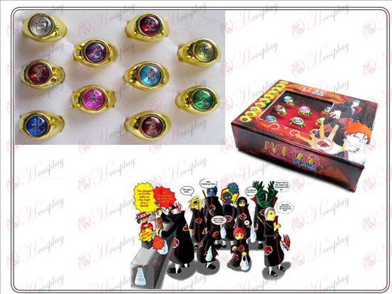 Naruto golden rings four generations Xiao Organization