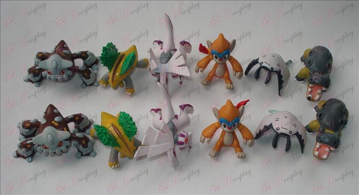 12 Accessori Pokemon (12 pc / insieme)