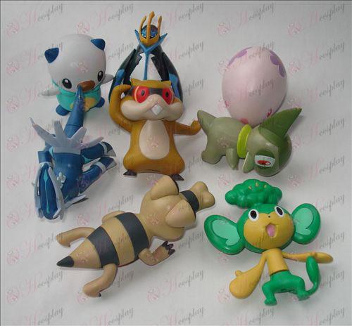 Osem Pokemon Príslušenstvo
