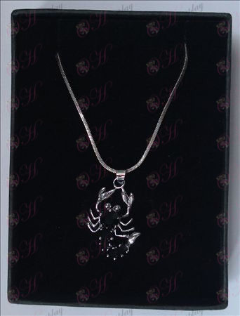 Saint Seiya Accessories scorpion necklace (black)