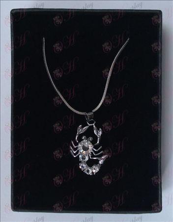 Saint Seiya Tilbehør skorpion halskæde (hvid)