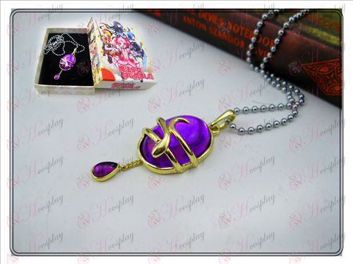 Magical Girl Accessoires chute de collier (violet) Boxed