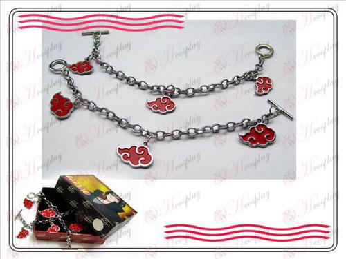 Naruto Red Cloud couple bracelets