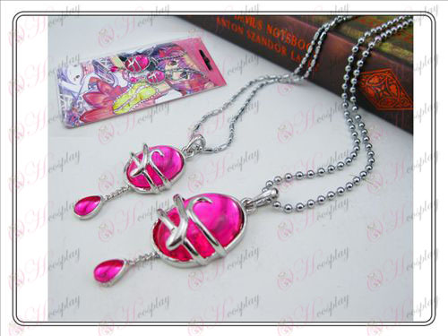 Installato Magical Girl Accessori Collana carta (sezione AA)