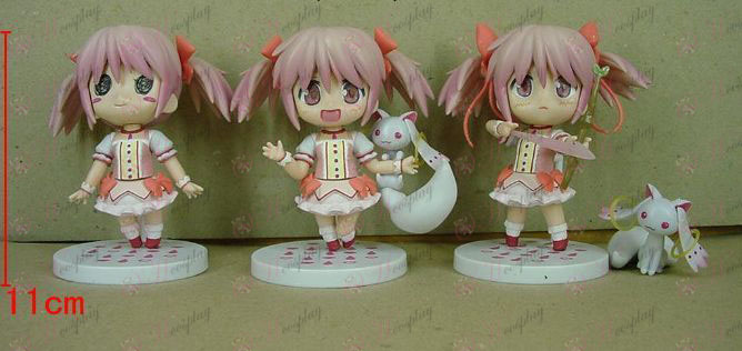 2nd generation 3 Magical Girl Accessories small round base