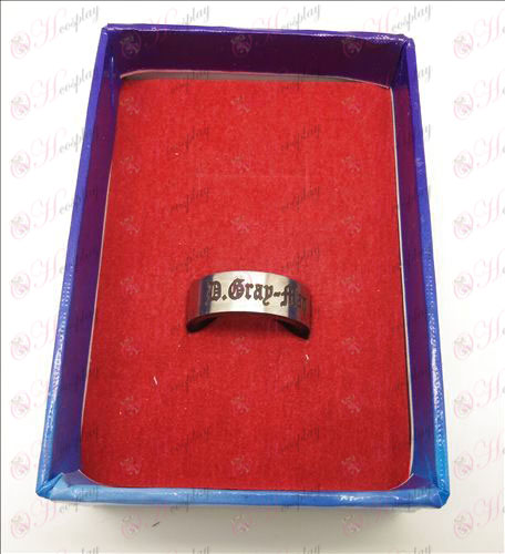 D.Gray-mand Tilbehør hvidt stål roterende ring