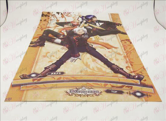 D42 * 29cmD.Gray-man Accessories embossed posters (8 / set)