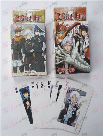 D.Gray-man Tarvikkeet Poker
