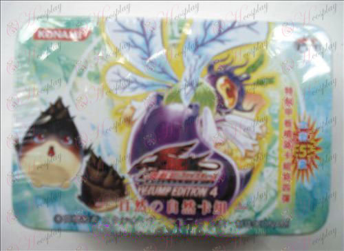 Genuine Tin Yu-Gi-Oh! Accessories Card (natural card group)