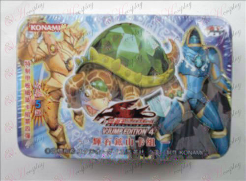 Genuine Tin Yu-Gi-Oh! Accessories Card (Hiroshima Shankar pyroxene group)