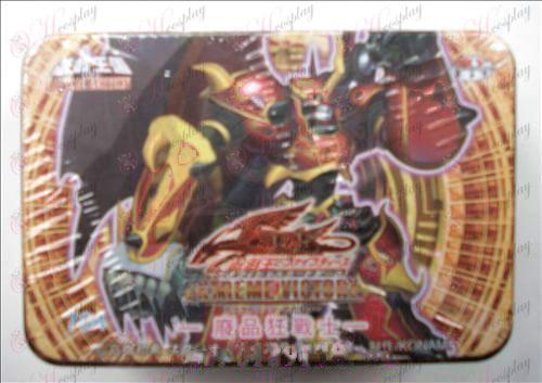 Genuine Tin Yu-Gi-Oh! Аксесоари Card (скрап Berserker 704)