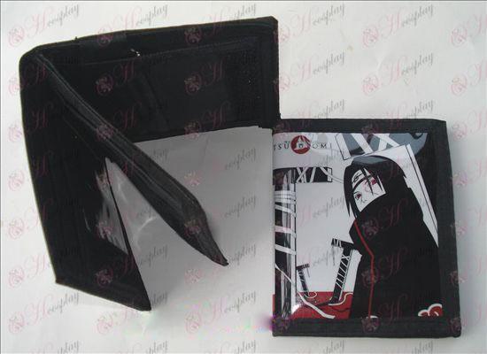 Naruto Itachi PVC carteira