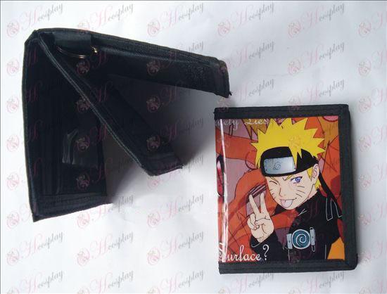 Naruto PVC wallet victory