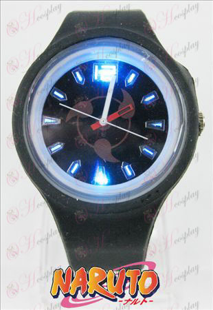 Colorful flashing lights sports watch - write round eyes