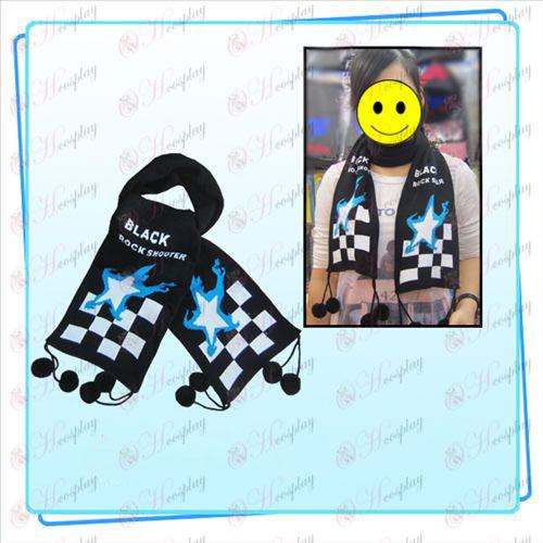 Gebrek Rock Shooter Accessoires jacquard sjaal