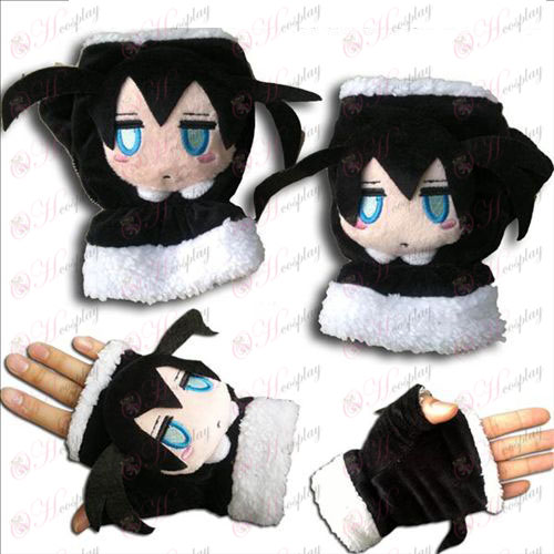Липса Rock Shooter AccessoriesQ версия герой плюшени ръкавици